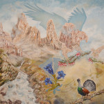 Il canto nel regno dell'aquila 180x180