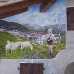 Affresco Il pastorello