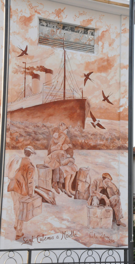 Murales Emigrazione Abruzzese Sant'Eufemia a Maiella PE
