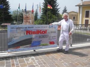 """Realizzazione del """"Risiko più grande del mondo"""" a Sant'Eufemia a Maiella luglio 2014"""